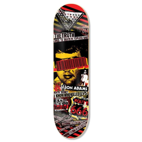 Black Label Skateboards Jason Adams Bail Out Skateboard Deck - 8.68