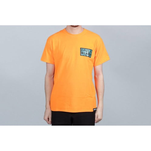Life's A Beach Get With The Program T-Shirt Orange