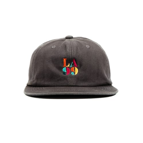Icon 6 Panel Cap Grey