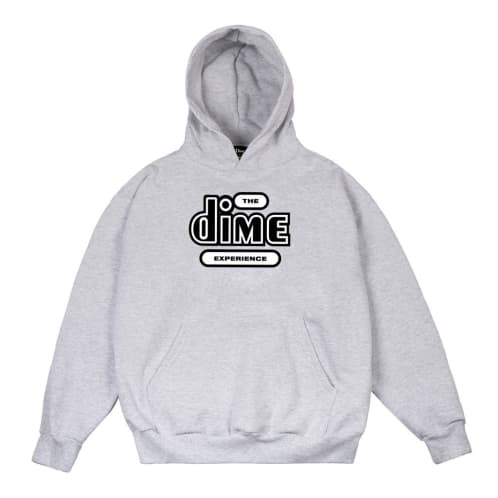 Dime The Dime Experience Hood Ash Grey