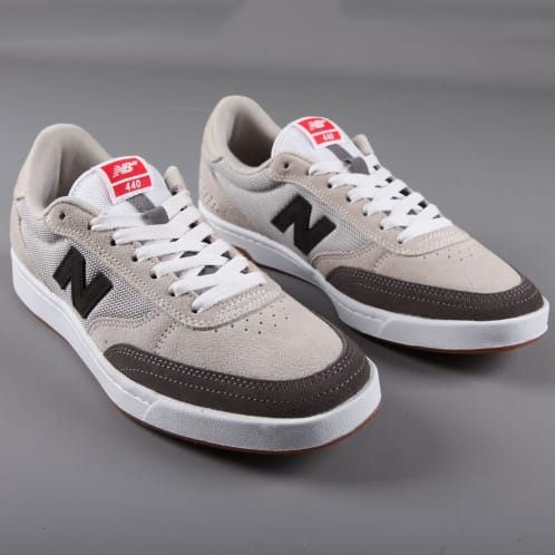 New Balance Numeric '440' Skate Shoes (Light Grey / Grey)