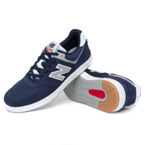 New Balance AM574 Shoes - Navy/Grey