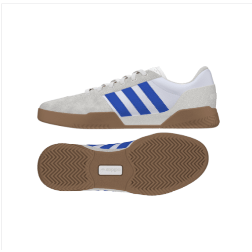 Adidas City Cup Shoe White/Blue/Gum