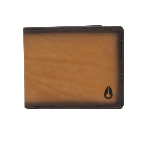Nixon Satellite Big Bill Bi-Fold Coin Wallet - Tan