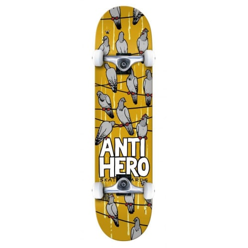 Anti Hero On A Wire Complete Skateboard - 8""