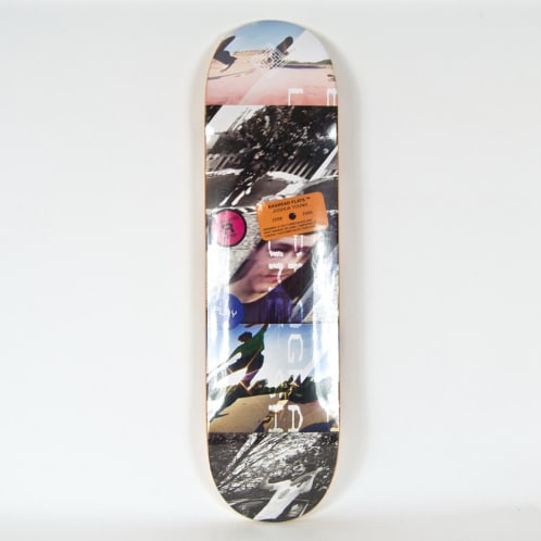 """The National Skateboard Co. - 8.375"""" (Medium Concave) Joshua Young Baghead Flats Deck"""