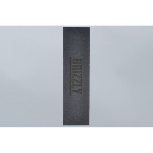 Grizzly Clear Text Griptape Black