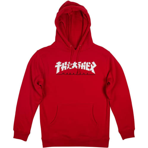 Thrasher Godzilla Hooded Sweatshirt - Red