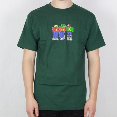 Bronze 56k Childhood T-Shirt Forest Green