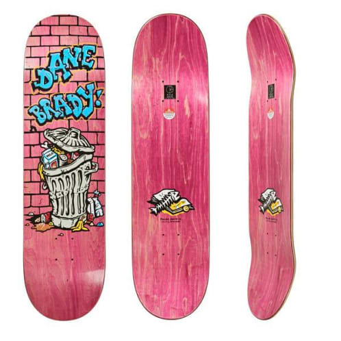 Polar Skate Co Dane Brady - Trash Can Deck 8.5""
