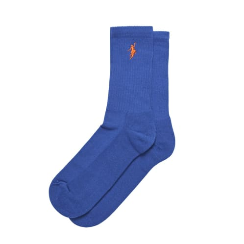 Polar Skate Co No Comply Socks Blue
