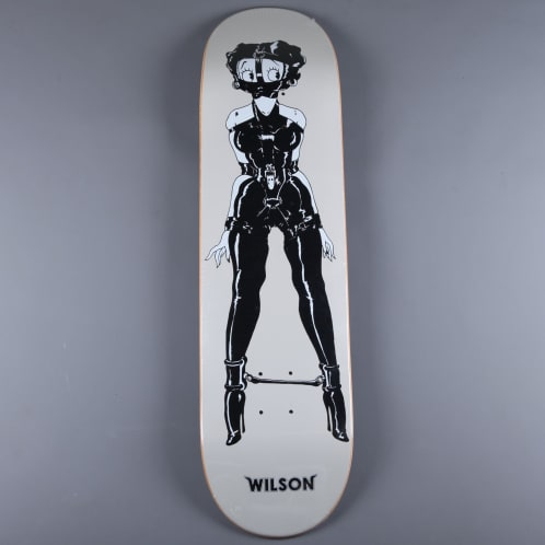 "Quasi 'Wilson Safe - One' 8.25"" Deck (Grey)"