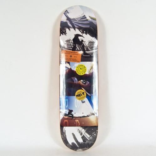 "The National Skateboard Co. - 8.25"" (High Concave) Gregoire Cuadrado Blobystation Deck"