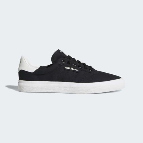 Adidas 3MC Vulc Shoes - Core Black/Core Black/FTWR White
