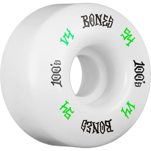 Bones 100s #12 V4 Wheels 101a - 54mm