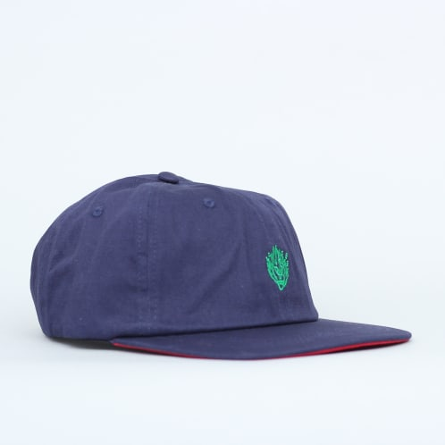 Slam City Skates Flamehead Cap Navy