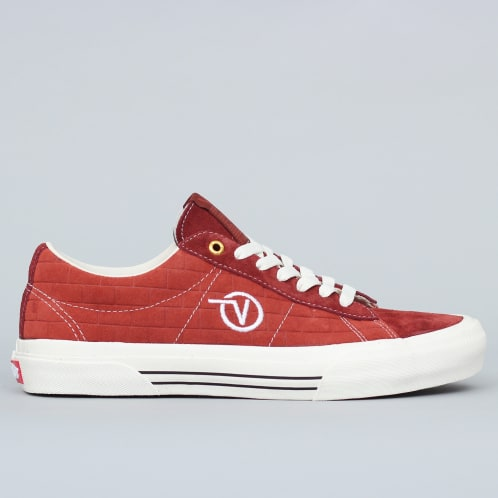 Vans X Passport Sid Pro Ltd Shoes Brick Red