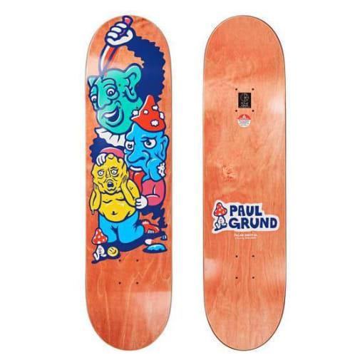 "Polar Skate Co ""Paul Grund - Meltdown"" pro Skateboard Deck 8.125"""