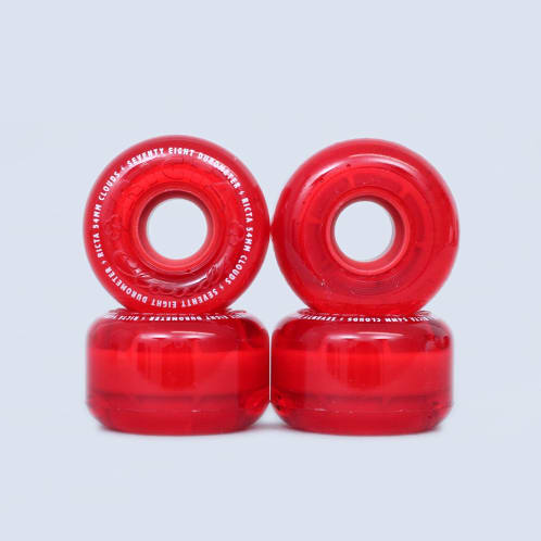 Ricta 54mm 78A Crystal Clouds Wheels Red