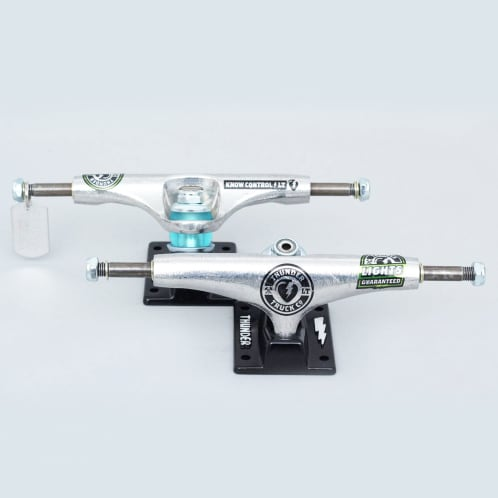 Thunder Hi 147 LTD Light Trucks Silver / Black (Pair)