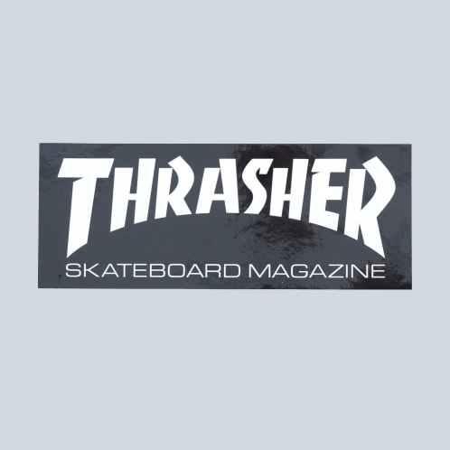 Thrasher Super Skate Mag Sticker Black