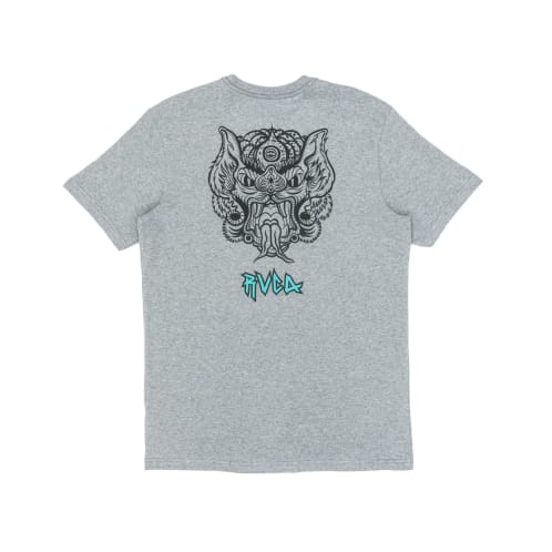 RVCA Specimen T-Shirt - Athletic Heather