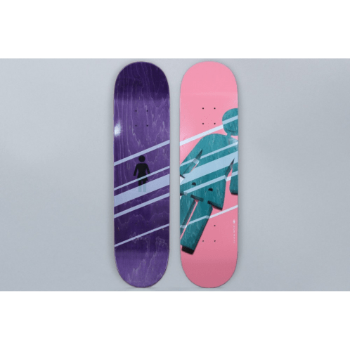 Girl 8.25 Sean Malto Shutter OG Skateboard Deck