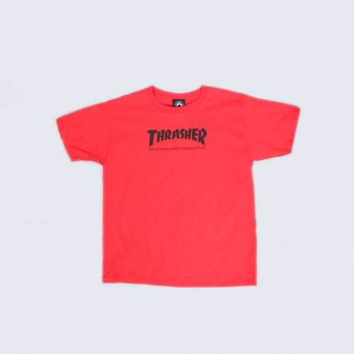 Thrasher Skate Mag Youth T-Shirt Red