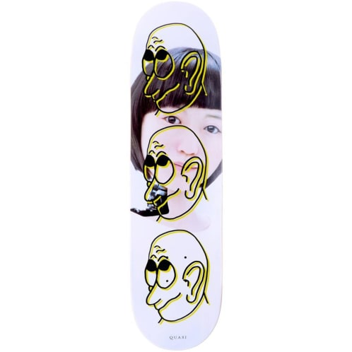 Quasi Skateboards Girl Yellow Deck - 8.25