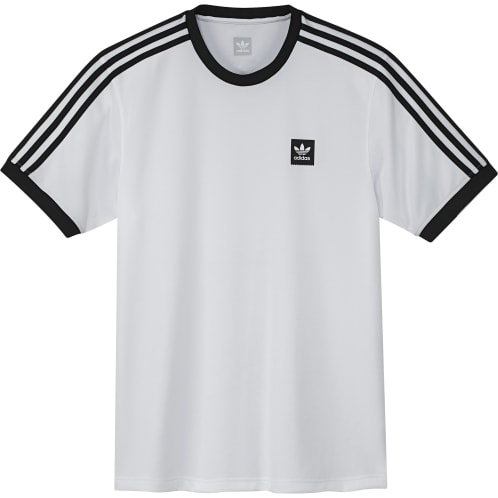 Adidas S/S Club Jersey - White / Black