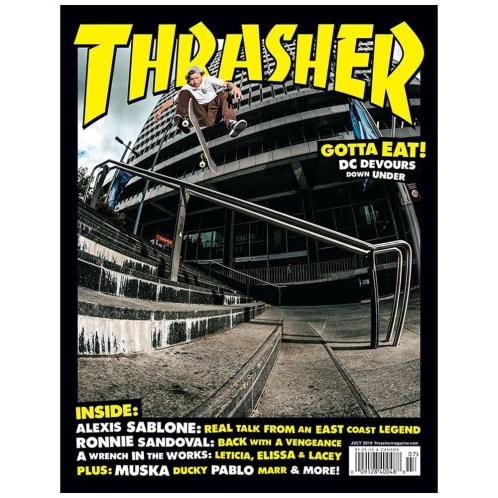 Thrasher Magazine July 2019