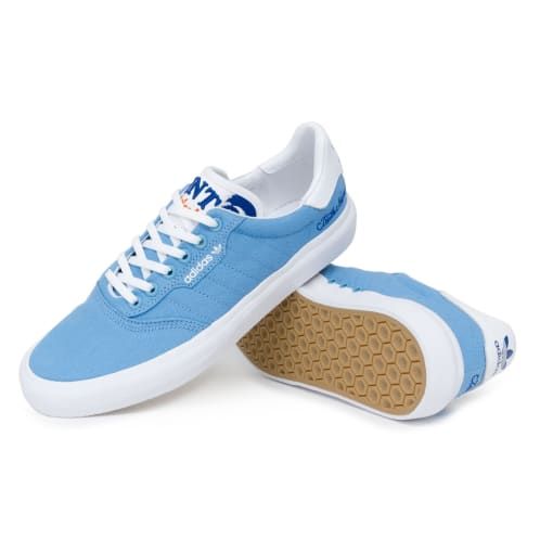 Adidas x Truth Never Told 3MC Shoes - Light Blue/FTW White/Collegiate Royal