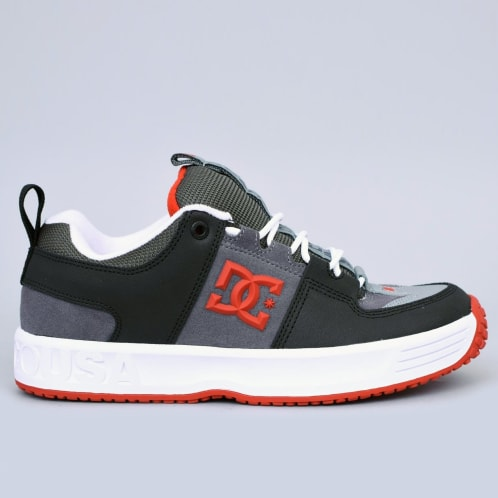DC Lynx OG Shoes Grey / Red