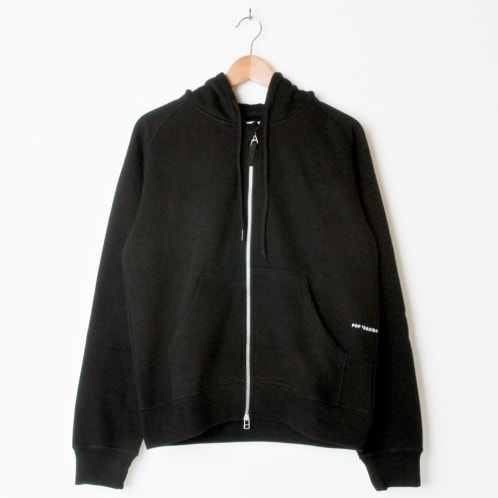 Pop Trading Company Double Zip Hood (Back Embroidery)