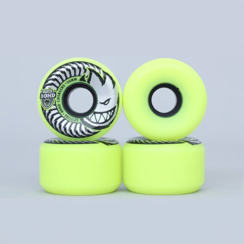 Spitfire 56mm 80HD Chargers Conical Wheels Yellow