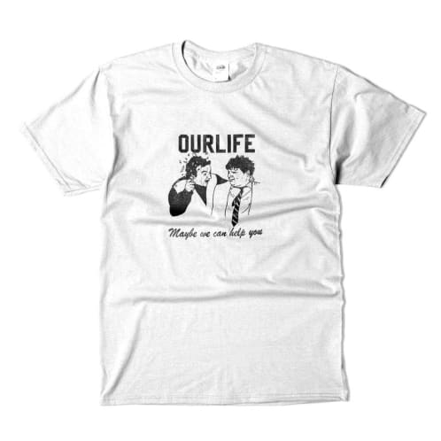 Our Life Help T-Shirt - White