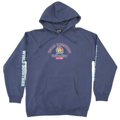 World Industries Flame Boy University Hood - Charcoal