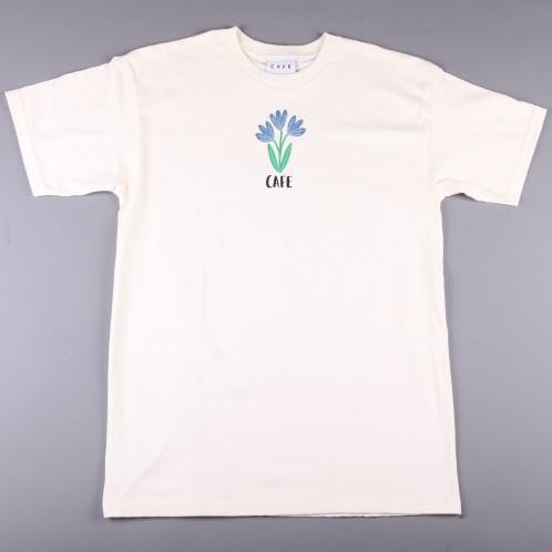 Skateboard Cafe 'Blues' T-Shirt (Cream)