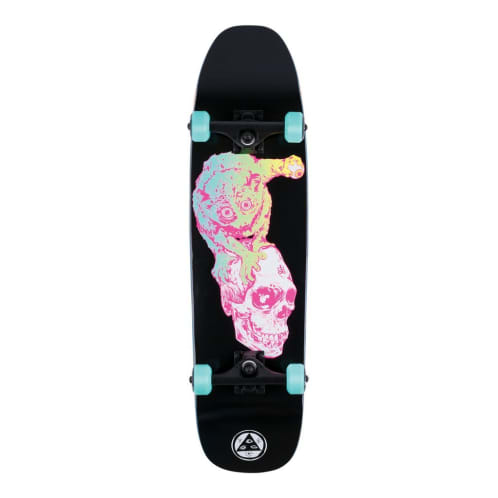 "Welcome Skateboards - 8.25"" Loris Loughlin On Scaled Down Nimbus 3000 Complete Skateboard - Black / Pink"
