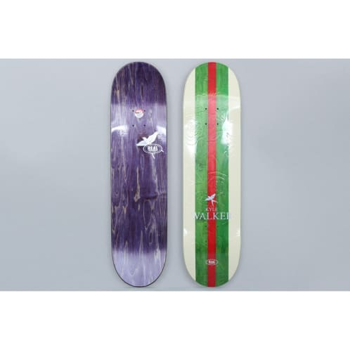 Real 8.12 Kyle Walker Shine On Skateboard Deck Cream