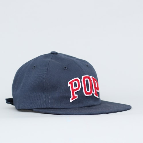 Pop Trading Arch 6 Panel Cap Navy