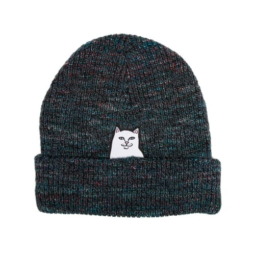 Rip N Dip Lord Nermal Rib Beanie - Blue Speckle