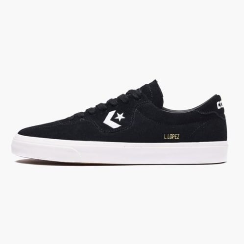 5c8ac17bc3a6 Converse Cons Louie Lopez Pro Ox Shoes - Black Black White