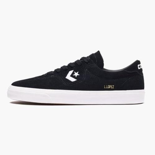 Converse Cons Louie Lopez Pro Ox Shoes - Black/Black/White