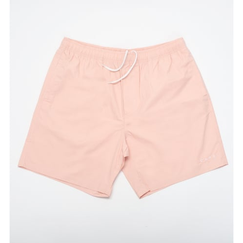 Skateboard Cafe Embroidered Shorts Pink