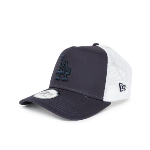 New Era League Essential A-Frame Los Angeles Dodgers Trucker Cap - Navy/White