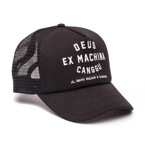 Canggu Address Trucker Cap | Black