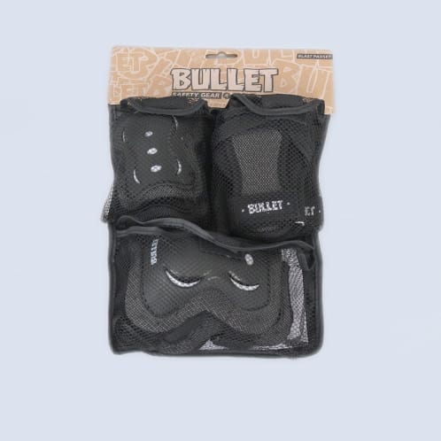 Bullet Blast Triple Youth Padset Black / White