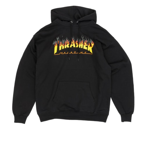 Thrasher BBQ Hooded Sweatshirt - Black