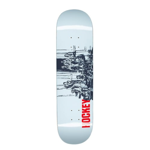 "Hockey Skateboards - 8.25"" Pack Deck - Blue"